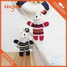 Non-toxic Cute Bunny Sock Toy