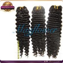virgin filipino haiir weft human suerior quality deep wave hair extension weft natural color 8A virgin human hair