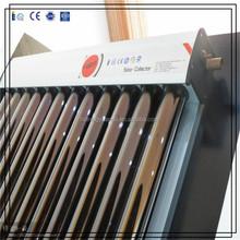 U-pipe pressurized heat pipe solar collectors