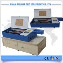 Small Mini Desktop Hoppy Co2 Laser Cutting Machine 500*300mm 60W