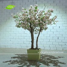 Factory direct sale Small artificial bonsai Cherry blossom tree