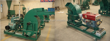 Professional big branches wood crusher