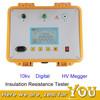HZJY-10000 Digital Insulation Resistance Tester,Megger