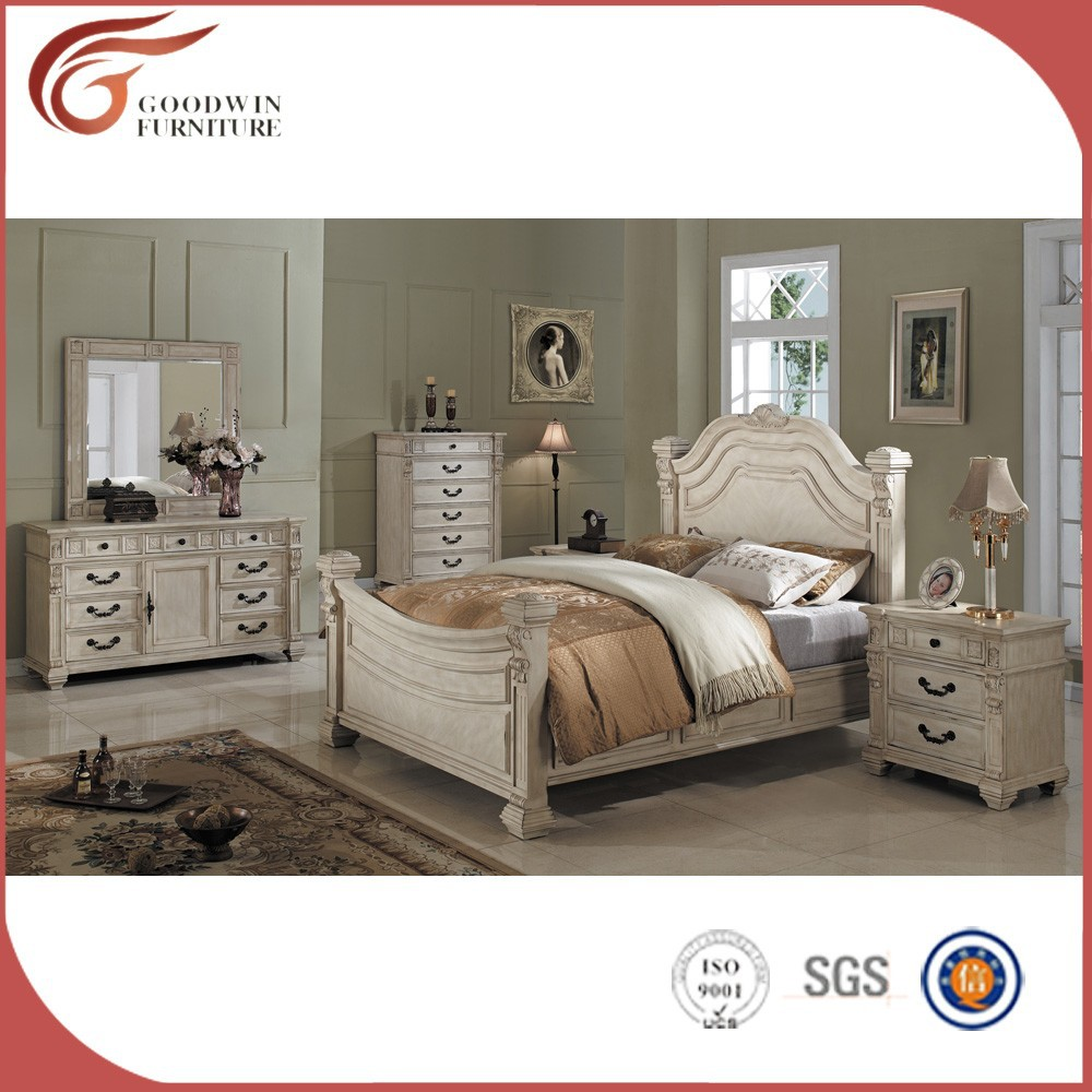 Cheap classic solid wood bedroom furniture wa143 view for Cheap bedroom furniture