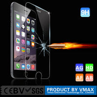 0.33mm 9H explosion proof Whole transparency tempered lcd glass screen protector for iphone 6 plus 5.5''