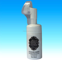 100ml plastic bottle, High Quality Plastic Lotion bottle With 43mm Foam Pump, foam pump bottle for face cleaning use