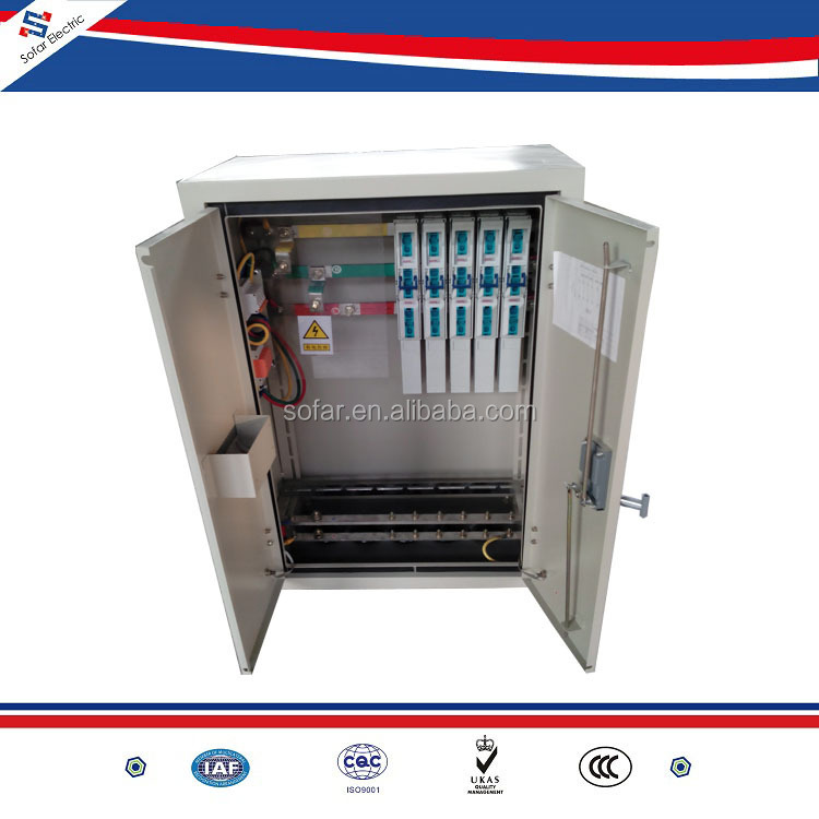 IP54 Outdoor MCCB Electrical Main Switch Distribution Panel Board ...