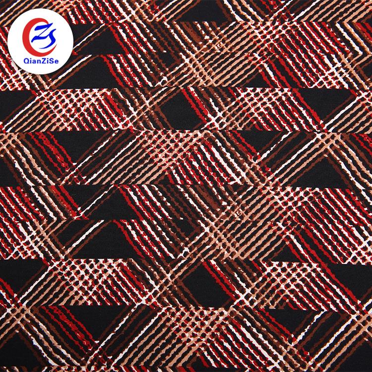 Traspirante stampato tessuto di rivestimento weed stampato feltro tessuto per il vestito delle donne