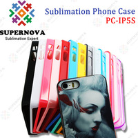 DIY silicon mobile phone case for iPhone 5s
