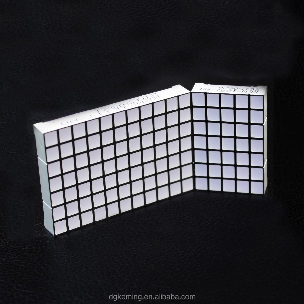 Square dot matrix lift 11x7 and 5x7 dot matrix led display