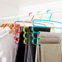 Multi-function Plastic PS Clothes, Trousers, Towel, Scarf Hangers