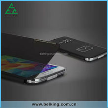 Transparent smart cover for Galaxy Note 3 leather case