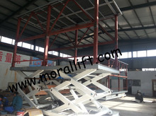 scissor lift car/3m lift height car lift with lower self-height