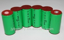 J&Y Wholesale Ni-MH Battery Factory price/7.2v 1500mah aa rechargeable batteries