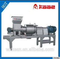 Fruit and vegetable gear type crusher machine