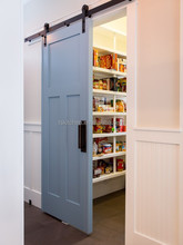 New Design Solid wood kitchen cabinet/new designed wooden kitchen/beach solid wood kitchen painted pantry cupboard