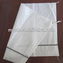de arena blanca de sacos de polipropileno