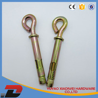 plastic wall anchor type of lock washers threaded bushings for concrete eye bolt sleeve anchor