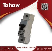 Tehow 2015 New Design CE,CB,TUV,RoHs,Intertek certificated Tehow 1P 20 amp miniature circuit breaker mcb