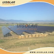 240KW Pile solar ground mounting project