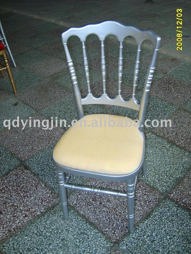 Prata cadeira napoleão