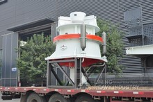 3-d model solid works rock cone crusher
