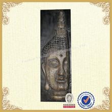 Interior decor wall decorative metal buddha head