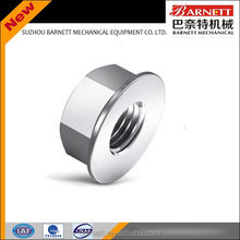 CNC turned slot nut stainless steel round nuts