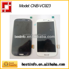 Lens and LCD screen assembly without frame for Samsung galaxy