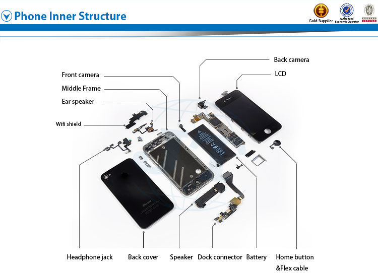Mobile phone parts front glass for samsung galaxy note 3