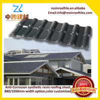 1.5mm -3mm plastic anti-corrosion synthetic resin roof sheets