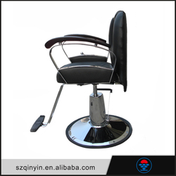 Black CE certificate PU leather simple & classic design functional convenient electric styling chair