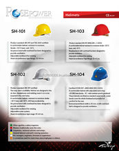 Safety Helmet SH-101 SH-102 SH-103 SH-201