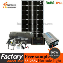 China supplier portalbe home system off grid 1500kwh 500w solar power station