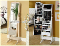 Antique Dressing Mirror jewelry cabinet arabic style bedroom furniture for Middle East