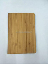 New Products 2015 Innovation Products Full Wood Bamboo case for iPad Air 1 Stand Leather Wood Cover Case With Blank Design