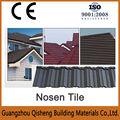 tipo de láminas para techos de piedra recubierta de metal para techos de hoja