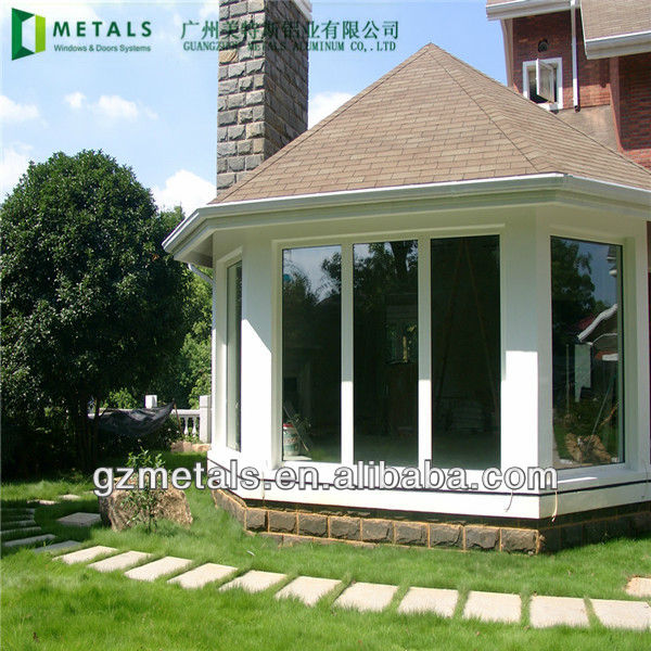 Gazebo glass houses aluminum sunroom modular home buy for Modular sunrooms