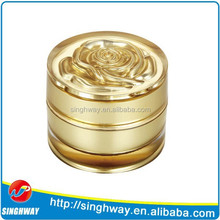 2015 wholesale 5g advanced round shape cream jar sample free plastic container