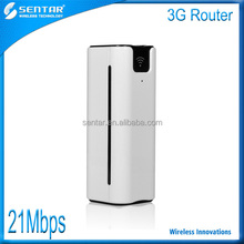 High tech new product 21.6Mbps 3G mini wifi wireless hotspot router with SIM with 2600mAh power bank