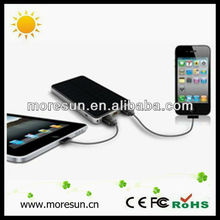 Three colors Huge Capacity 6000mA New Innovative Product 180g portable multi-purpose solar charger For ipad/iphone