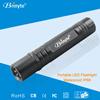 40g D138 1*18650 rechargeable battery aluminum protable EDC led flashlight
