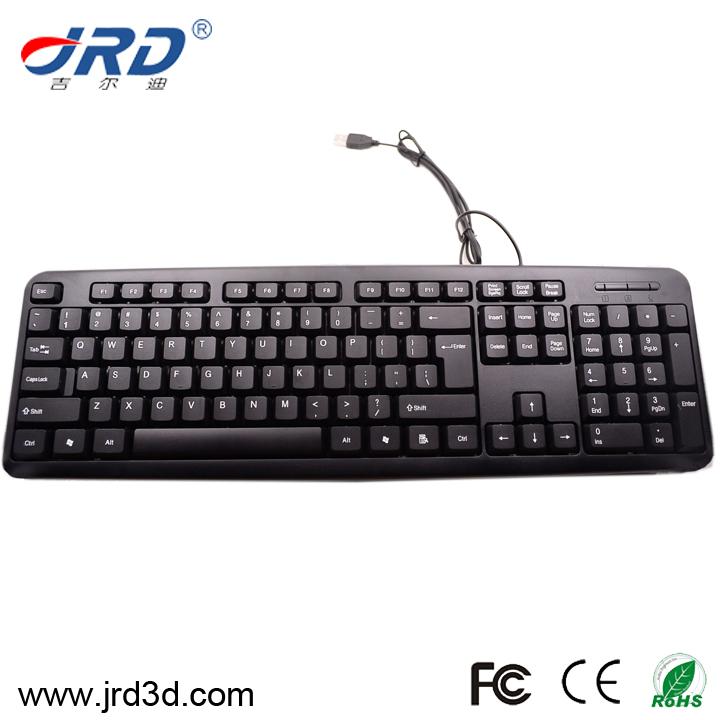 jrd kb001 shenzhen classico Razer di gioco usb keyboard con il disegno speciale da jrd fabbrica