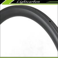 U Shape carbon rims WU3T tubular 38mm 25mm wide 700C bicycle rims for sale