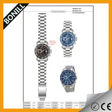 Display Silver Stainless Steel Business Dress Automatic Men Mechanical Watch