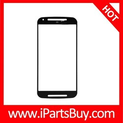 Front Screen Outer Glass for Motorola Moto G2 cell phone parts for sale