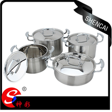 Hot Sale European Style Stainless Steel Capsuled Bottom Cookware Set/Cooking Pot
