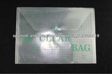bolso del documento transparente