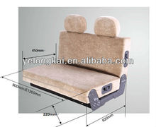 rock and roll camper vans bed/seat with E-mark certification