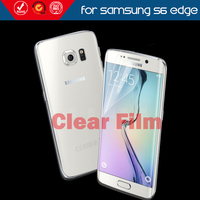 High clear TPU anti shock full cover screen protector for samsung s6 edge screen protector
